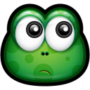 128x128px size png icon of Green Monster 12