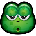 128x128px size png icon of Green Monster 18