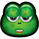 128x128px size png icon of Green Monster 19