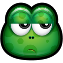 128x128px size png icon of Green Monster 24