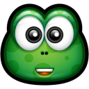 128x128px size png icon of Green Monster 9