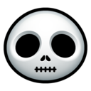 128x128px size png icon of Jack Skellington