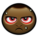 128x128px size png icon of angry man