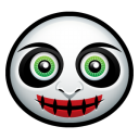 128x128px size png icon of clown 2