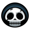 128x128px size png icon of grim reaper