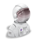 128x128px size png icon of Astronaut