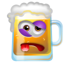 128x128px size png icon of Beer Beaten