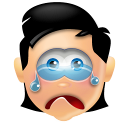 128x128px size png icon of Boy Cry