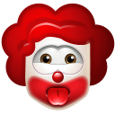 128x128px size png icon of Clown Impish
