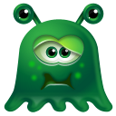 128x128px size png icon of Monster Sick