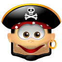128x128px size png icon of Pirate Smile