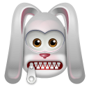 128x128px size png icon of Rabbit StopTalking