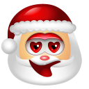 128x128px size png icon of Santa Claus Adore