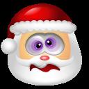 128x128px size png icon of Santa Claus Dizzy