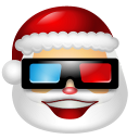 128x128px size png icon of Santa Claus Movie