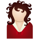 red woman Icon