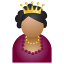 128x128px size png icon of miss crown