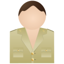 128x128px size png icon of Guardia Civil Without Uniform