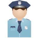 128x128px size png icon of Policman Without Uniform