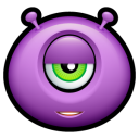 128x128px size png icon of Alien indifferent