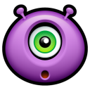 128x128px size png icon of Alien surprised