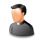 128x128px size png icon of priest