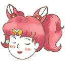 128x128px size png icon of chibiusa
