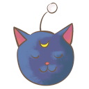 128x128px size png icon of luna p
