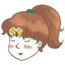 128x128px size png icon of sailor jupiter