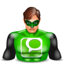 technorati greenlantern Icon