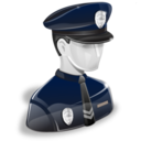 128x128px size png icon of policeman