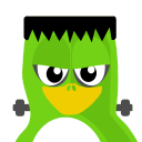 128x128px size png icon of Frankenstein Tux
