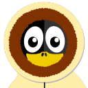 128x128px size png icon of Inuit Tux