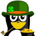 Irish Tux Icon