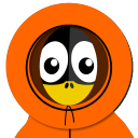 128x128px size png icon of Kenny Tux