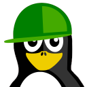 128x128px size png icon of Kid Tux