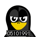 128x128px size png icon of Mugshot Tux