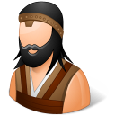 128x128px size png icon of Historical Barbarian Male