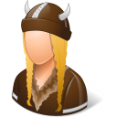 Historical Viking Female Icon