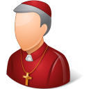 128x128px size png icon of Religions Bishop