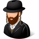 128x128px size png icon of Religions Jew Male
