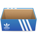 128x128px size png icon of Adidas shoe box