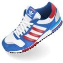 128x128px size png icon of Adidas shoe