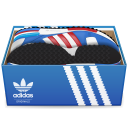 128x128px size png icon of Adidas Shoes In Box