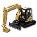 CR Excavator CAT Icon