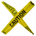 128x128px size png icon of Caution CAT