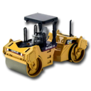 128x128px size png icon of Compactor CAT