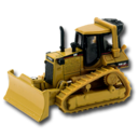 128x128px size png icon of Dozer CAT
