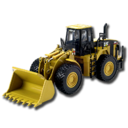 128x128px size png icon of Wheel Loader