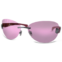128x128px size png icon of PINK GLASSES